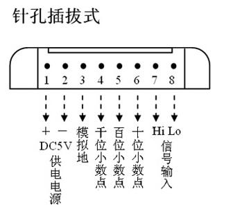 xl5135 8针直流数字电压表